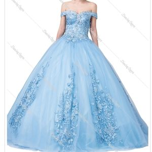 Quinceanera sweet16 birthday party dresses formal